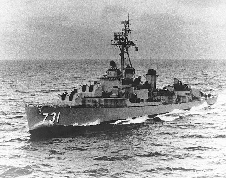 USS Maddox in Gulf of Tonkin, Mack Payne, vietnam veteran news