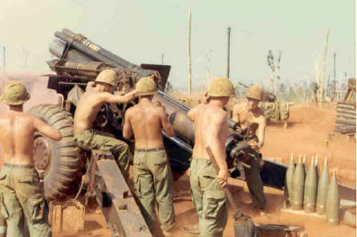 155mm Artillery in Vietnam, Mack Payne, Jessie Lee, Vietnam Veteran News