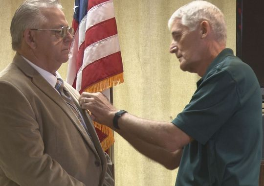 Larry F. Freeman Awarded Silver Star, Vietnam Veteran News, Mack Payne