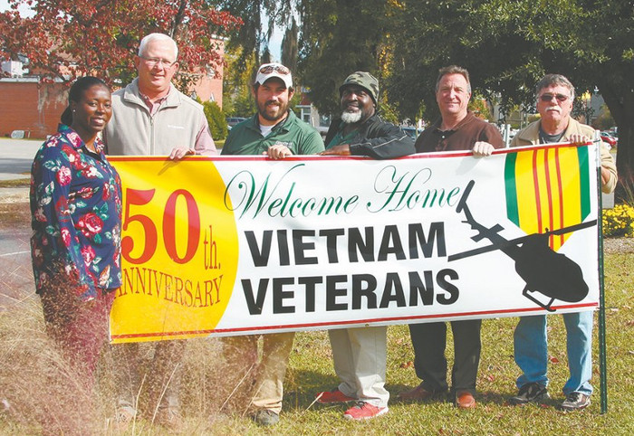 Williamsburg County Welcomes Home Vietnam Veterans