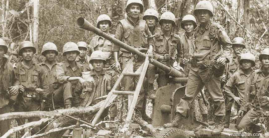 ARVN Soldiers in Laos