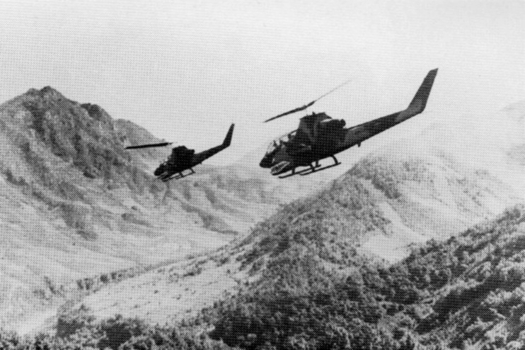 Cobra Gunships over Laos