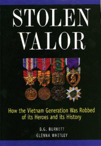 Stolen Valor, Mack Payne, Brian Williams, John F. Kerry, Hillary Clinton, Vietnam Veteran News
