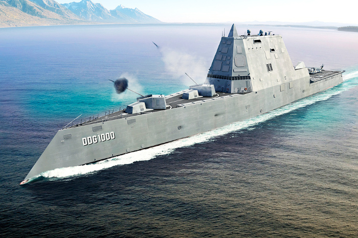 257 VVN - Zumwalt Class Destroyers are here, mack payne, vietnam veteran news. elmo zumwalt, destroyers