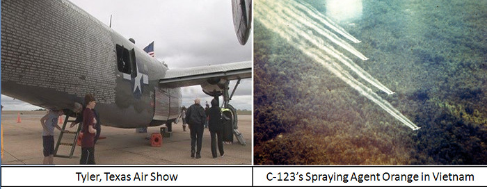 Tyler, TX Airshow and C-123 Update