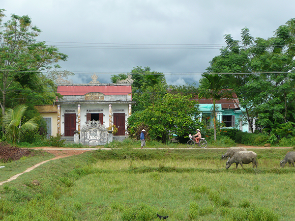 A home in the rural area of the central highlands of Vietnam, mack payne, vietnam veteran news