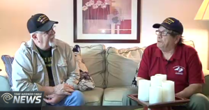 Bob Matthews and Ron Harris , mack payne, vietnam veteran news