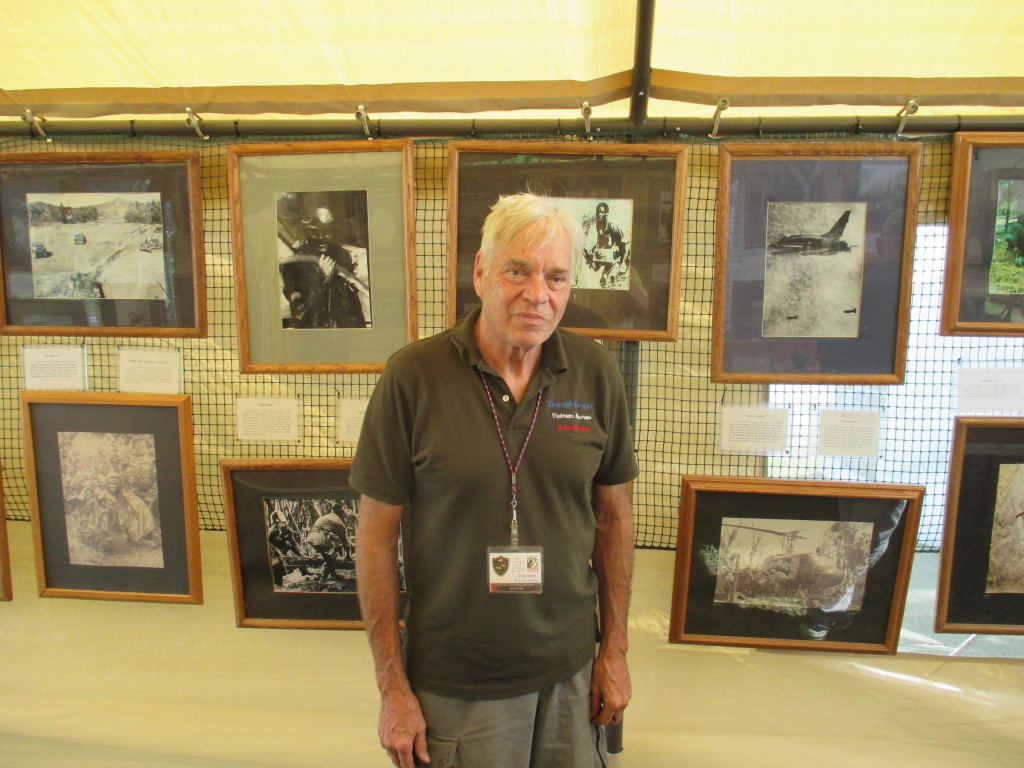 Through the Eyes, Traveling Vietnam Museum, john hosier, mack payne