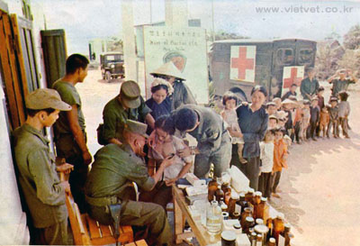 South Koreans helping, mack Payne, vietnam veteran news
