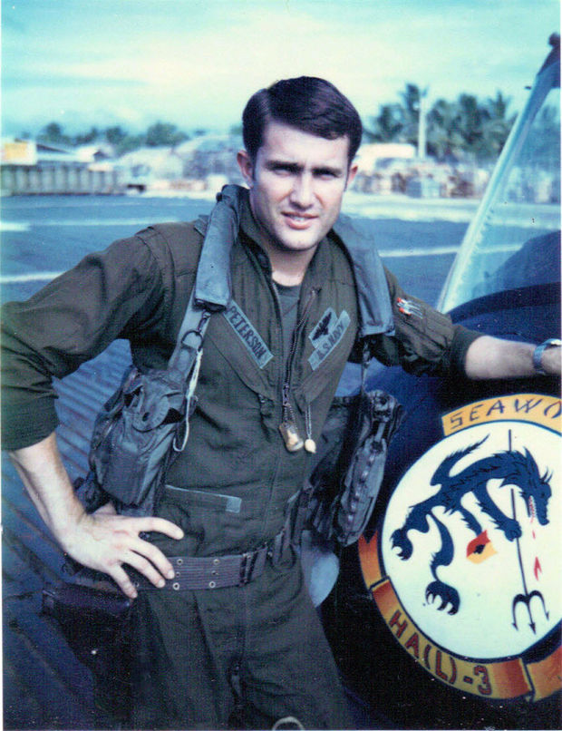 LTJG Gordon Peterson in Vietnam, mack payne, vietnam veteran news