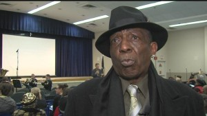 Vietnam Veteran William Carr came up with idea for African American Veterans ceremony.