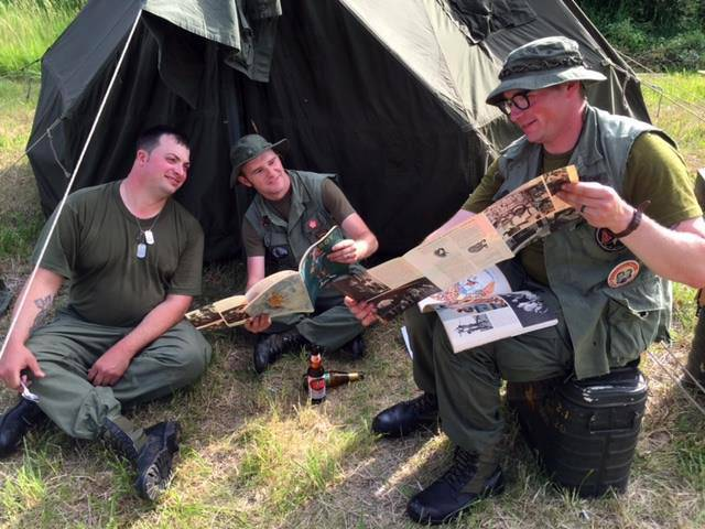 2/327TH VIETNAM RE-ENACTMENT GROUP, vietnam veteran news, mack payne