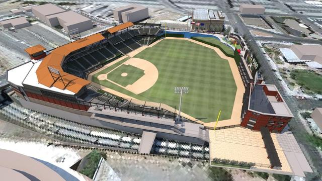 Southwest University Park, home of the El Paso Chihuahuas, Vietnam veteran news, mack payne