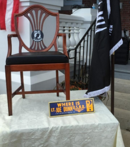 POW-MIA chair, vietnam veteran news, mack payne