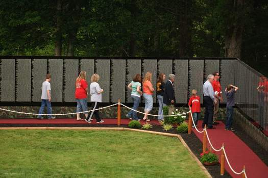 The Moving Wall, vietnam veteran news, mack payne
