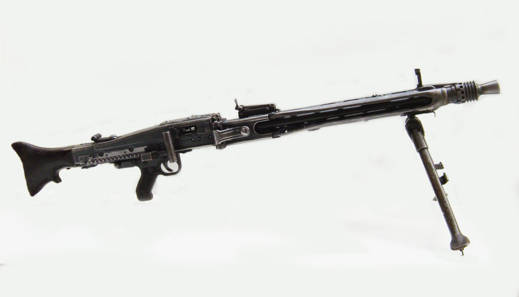 German Light Machinegun Mg42, vietnam veteran news, mack payne