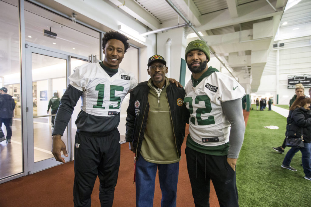 New York Jets and Vietnam Veteran, vietnam veteran news, mack payne