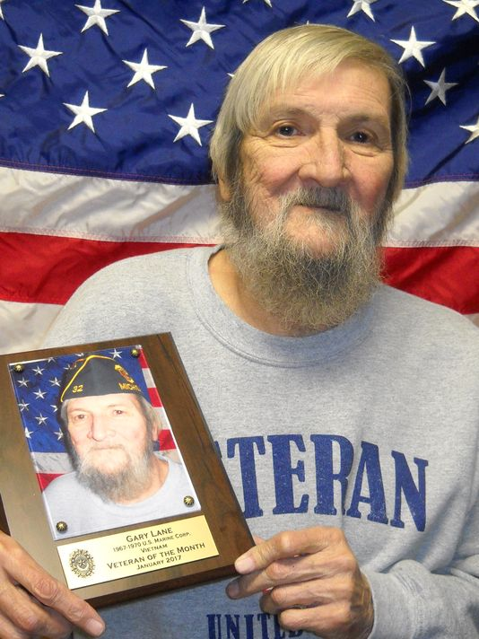 Gary Lane being recognized as Veteran of the Month, vietnam veteran news, mack payne