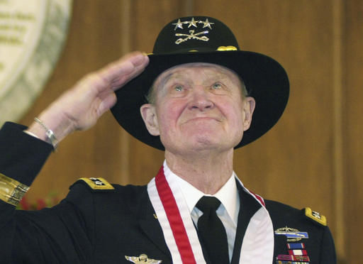 The late LTG Hal Moore, vietnam veteran news, mack payne