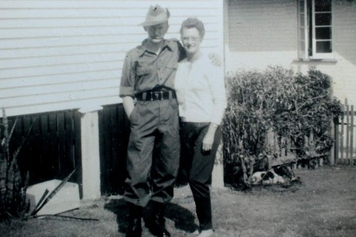 Adelaide Hendle and her son Terry, vietnam veteran news, mack payne