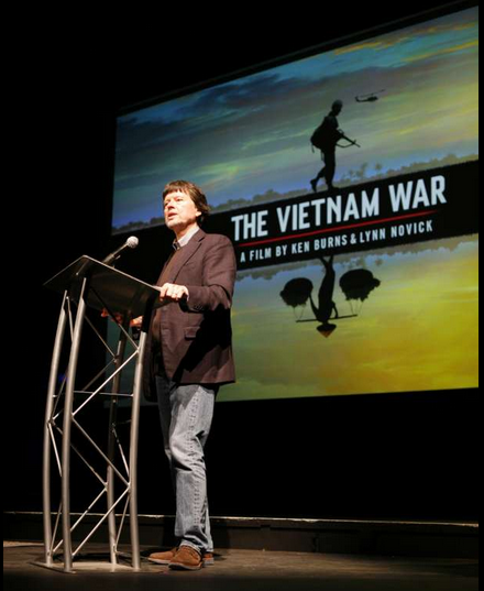 Ken Burns,  vietnam veteran news, mack payne