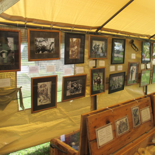 Through the Eyes Traveling Museum, Vietnam Veteran News, Mack Payne, John Hosier
