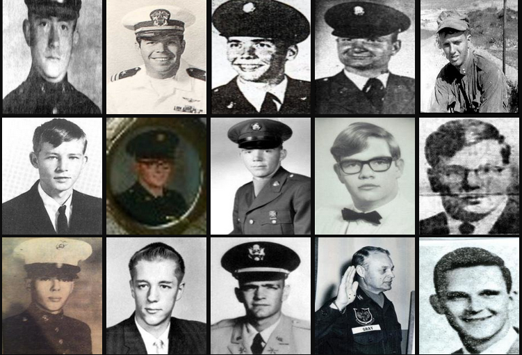 Wall of Faces, vietnam veteran news, mack payne