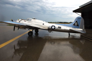 Bally's B-17G, vietnam veteran news, mack payne