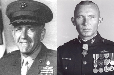 Brig. Gen. William Weise, Maj. Gen. James Livingston, vietnam veteran news, mack payne