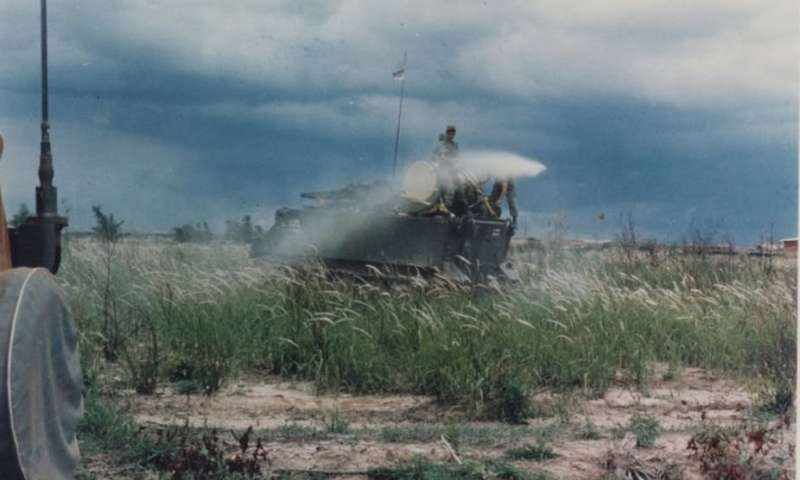 Agent Orange, vietnam veteran news, mack payne