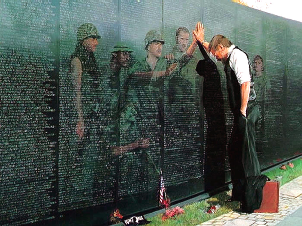 The Vietnam Wall, vietnam veteran news, mack payne