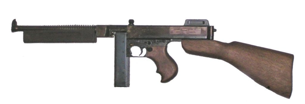 Thompson Sub-machine Gun, vietnam veteran news, mack payne