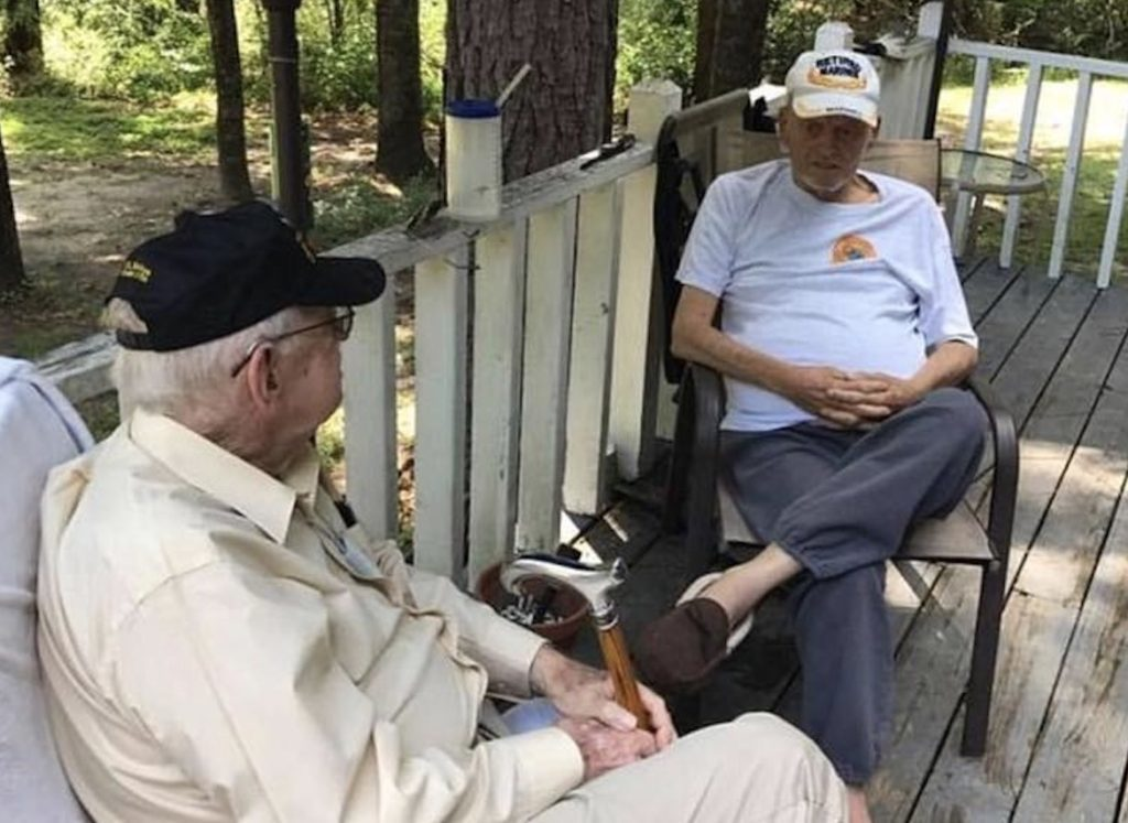 "William H. Cox and James ""Hollie"" Hollingsworth, vietnam veteran news, mack payne"